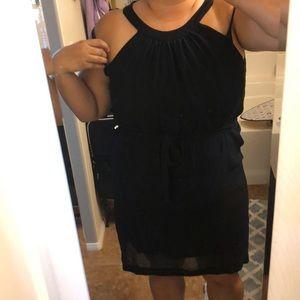 Kensie black and navy dress